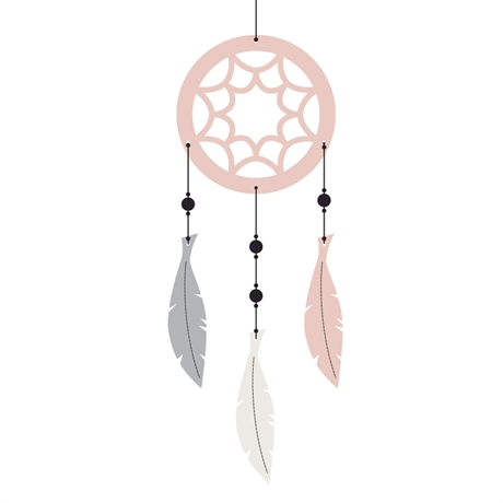 Roommate Dreamcatcher mobile-Rosa
