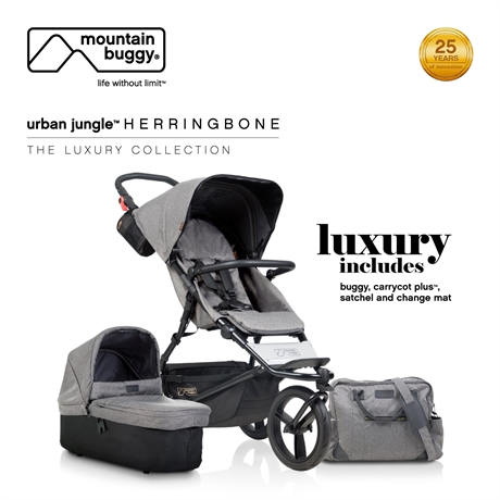 Mountain Buggy Urban Jungle the luxury collection - Herringbone