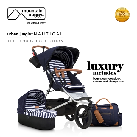 Mountain buggy-urban jungle™ nautical - the luxury collection